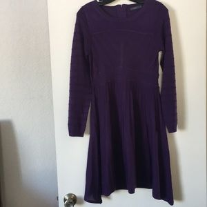 Purple Knot Dress by THML